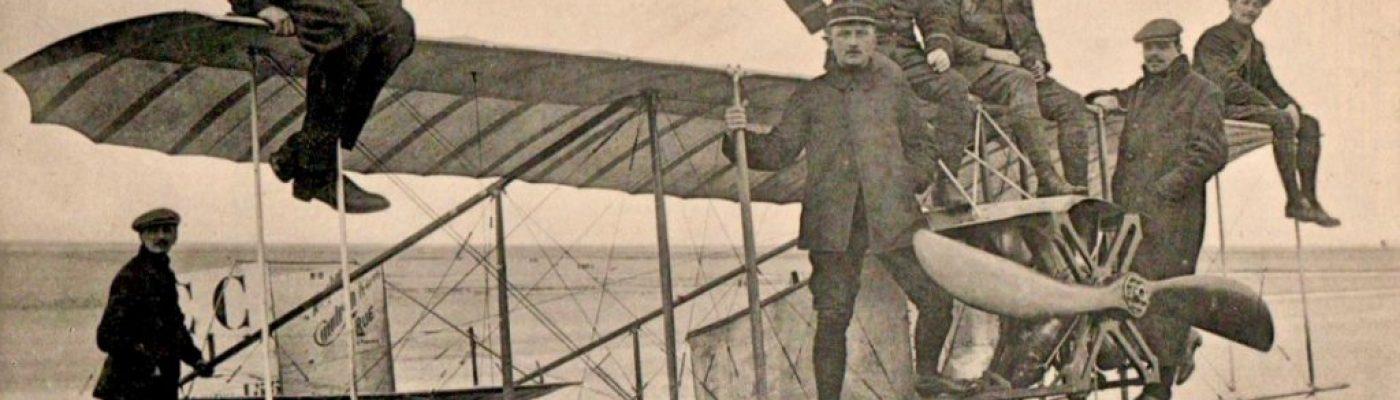 Le Crotoy, ancienne capitale de l'aviation