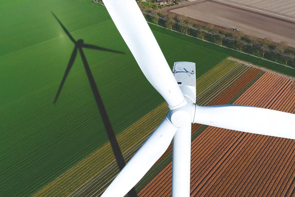 Sur le renouvellement des éoliennes terrestres